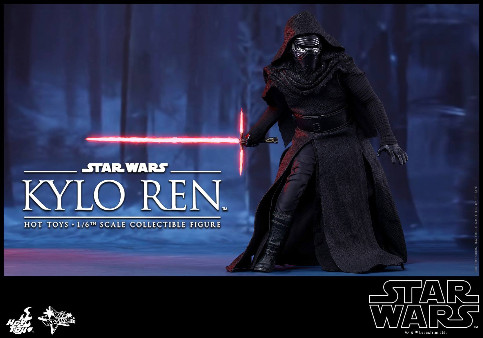 HOT TOYS - Star Wars: TFA - Kylo Ren 589671105