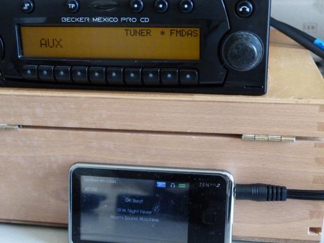 Smartphone sur autoradio vintage (1986/ 2002)? Acte 1 589921P1270110