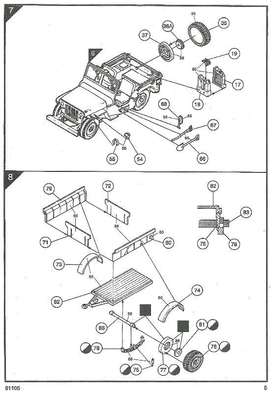 jeep indochine - Jeep Willys +Trailer Heller 1/35 591267JeepHeller135005