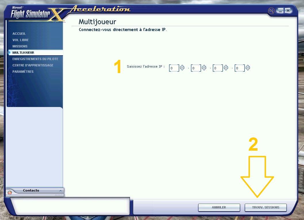 Comment rentrer dans une session à l'aide d'une IP 591437493