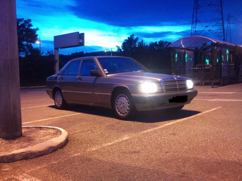 Mercedes 190 1.8 BVA, mon nouveau dailly - Page 9 592165DSC2307