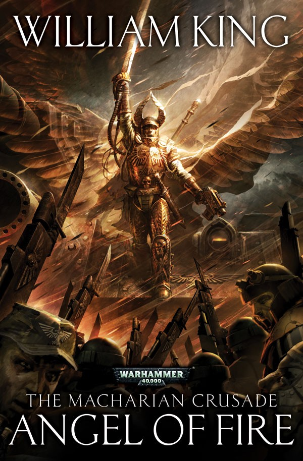 Angel of Fire (The Macharian Crusade) de William King 592698AngelofFiresoftback