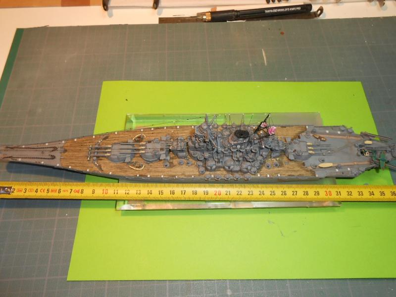 Yamato 1/700 fuji, PE,Pont en bois et babioles - Page 5 593801DSCN6324