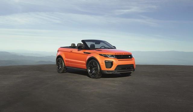 Range Rover Cabriolet, Un SUV Pour Toutes Les Saisons 594900RREVQConvertibleStatic09111502