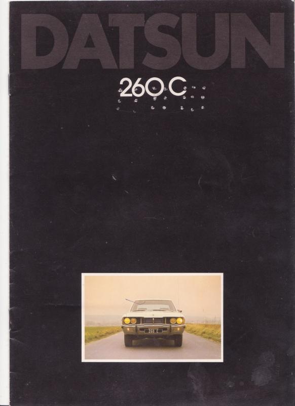 Topic Officiel DATSUN CEDRIC toutes générations! - Page 5 594924Datsun260cp1001