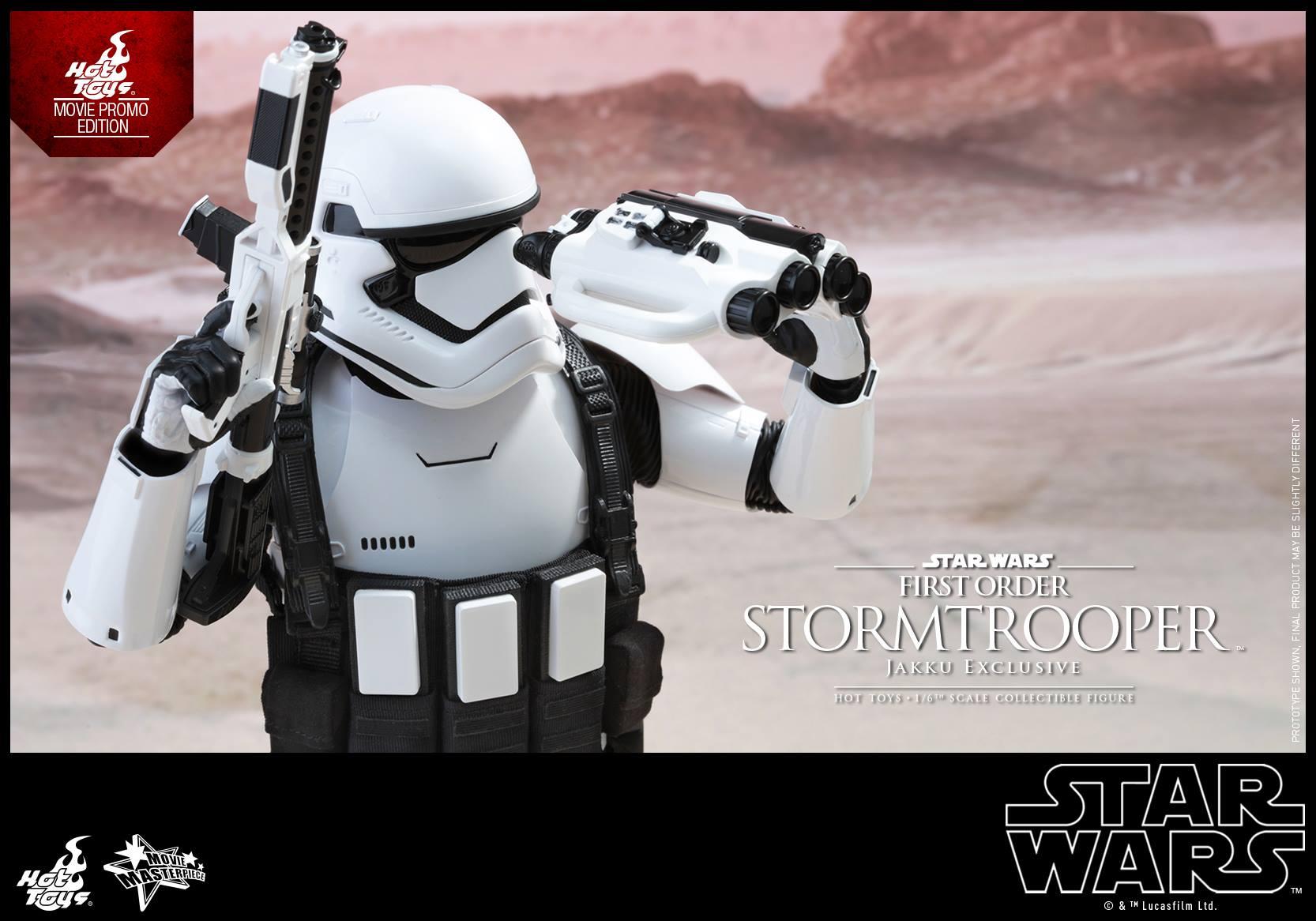 HOT TOYS - Star Wars: TFA - First Order Stormtrooper Jakku  596000111