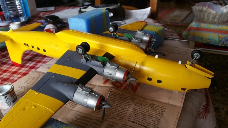 DOUGLAS DC-6B SECURITE CIVILE maquette HELLER au 1/72° - Page 2 59635820171217132005