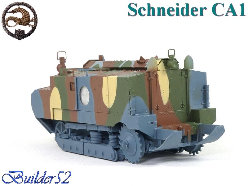CHAR SCHNEIDER CA 1 - HOBBY BOSS 1/35 596519P1040949