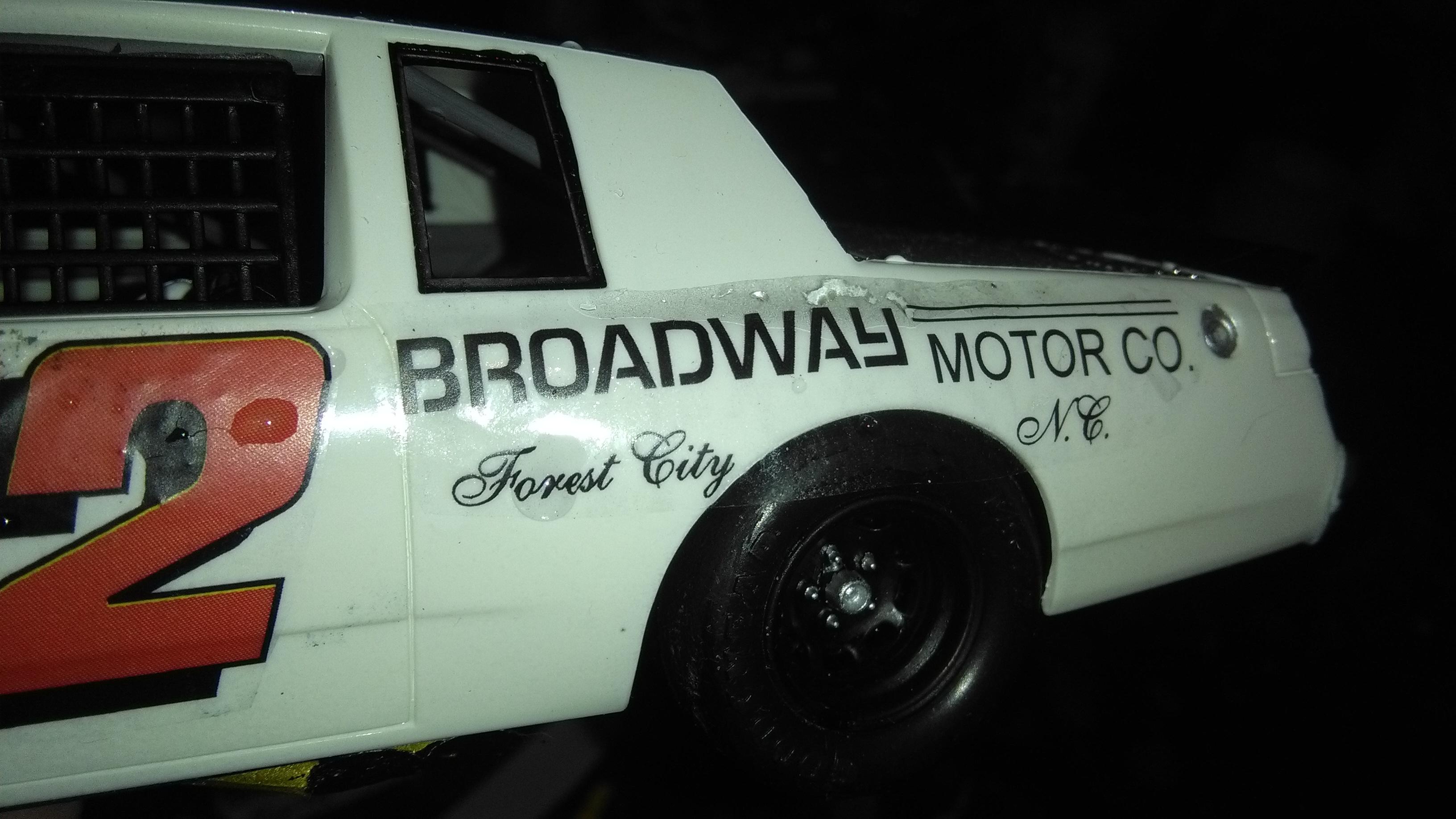 Buick Regal 1982 #52 Jimmy Means Broadway motor  597363B19815220