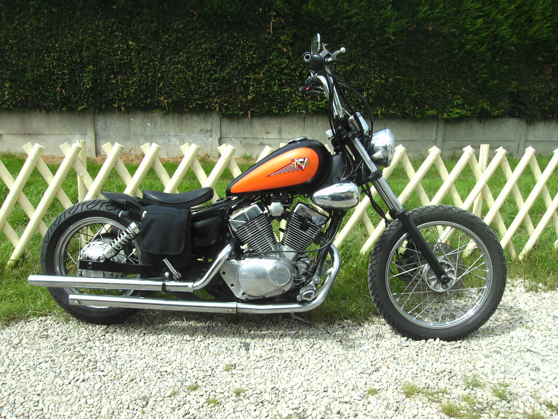 vt500c  transformation  en bobber, mes motos Deauville, Shadow 600 600899viragoaprsbobber