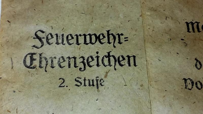 Paperasse panzerfaust,SA,sachet medaille 601149IMG20160121183123