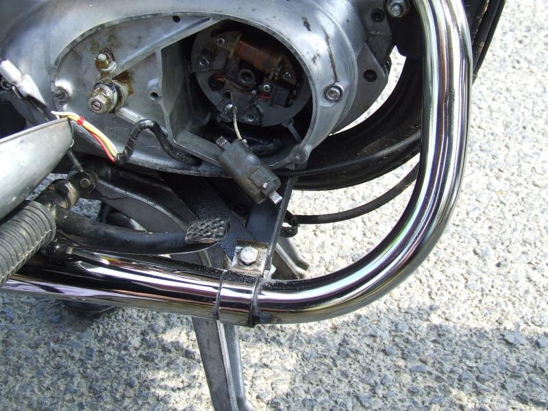MZ 125 TS changement de roulements d'une MZ 125TS 603701dscf60201