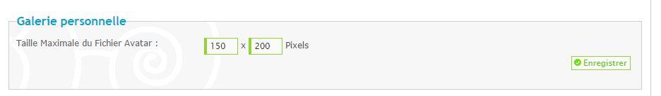 Pourquoi je peux télécharger un avatar de 200x200 alors que la taille est limitée à 150 pixels de large? 604124avatars2
