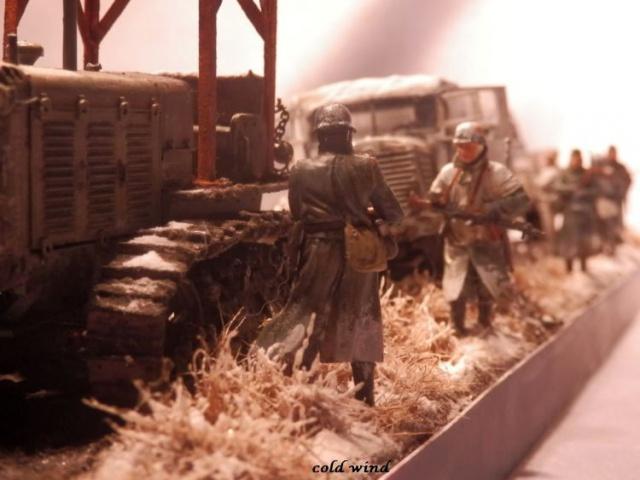 tracteur d artillerie soviétique chtz s-65 version allemande 1/35 trumpeter,tirant 2 blitz de la boue - Page 5 604320PA190057