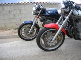 Yamaha SRX 600 : le mono super cinglé ! 604605fourchegauche