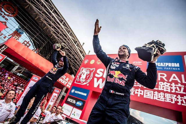 Peugeot Triomphe Pour La Deuxième Année Consécutive Sur Le Silk Way Rally 60531720257933