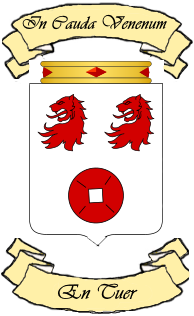Novembre 1465 - Anoblissement de Godefroy 605550BlasonMarseuvre