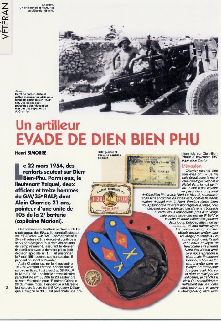 Après bien des péripéties, Charrier avait rejoint Muong-Sai et, sur ses indications, Delobel avait été récupéré par un des rares hélicoptères du GFHATI. Le troisième homme, le brigadier Nallet, poursuivait seul son aventure à travers la jungle. 605799File0001