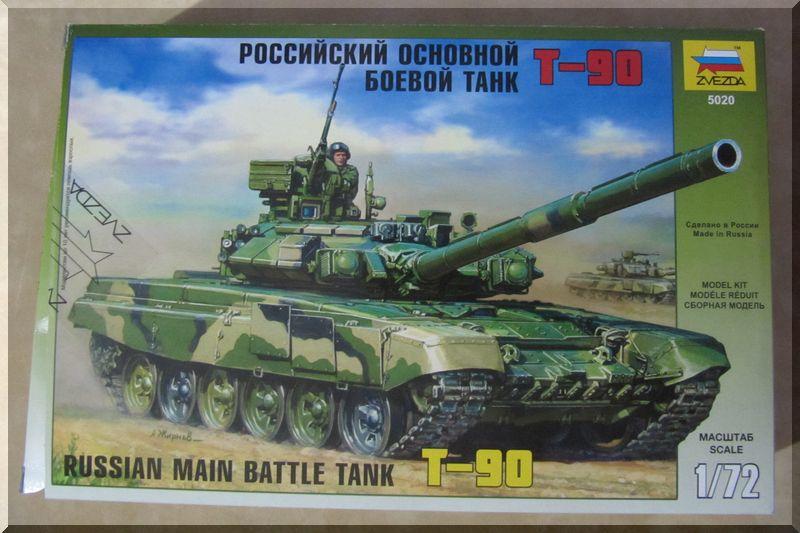 T90 Vladimir - Zvezda - 1/72ème 606719bote
