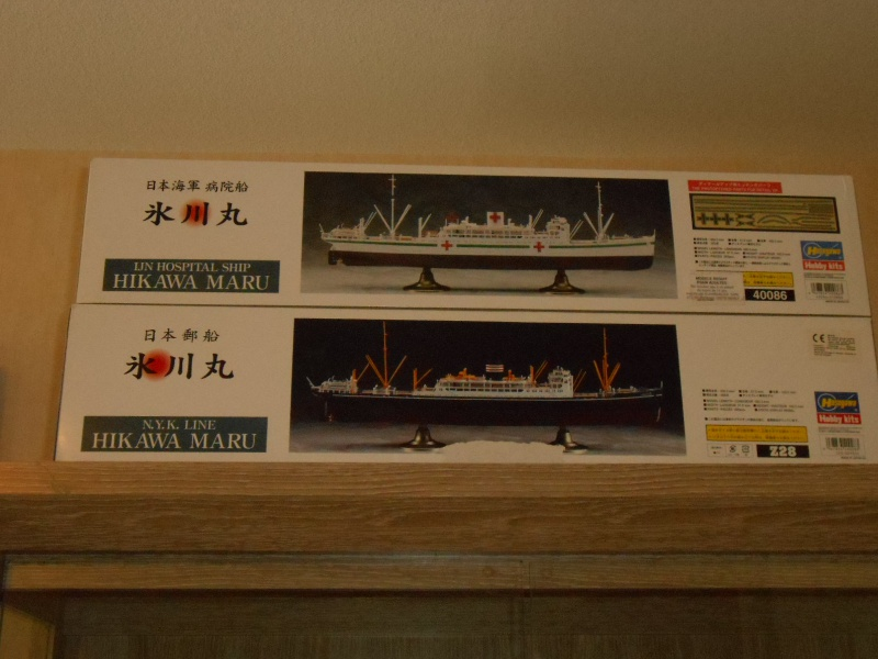 Hikawa Maru hopital 1/350 PE/pont en bois et babioles  608517DSCN5567