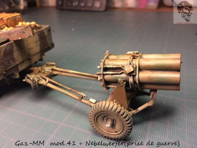 Gaz-MM mod 41 et Nebelwerfer (prise de guerre) - MiniArt + Dragon - 1/35 608870IMG5074