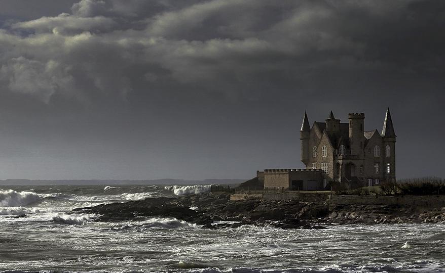 Château Turpault à Quiberon. 610035Turpault