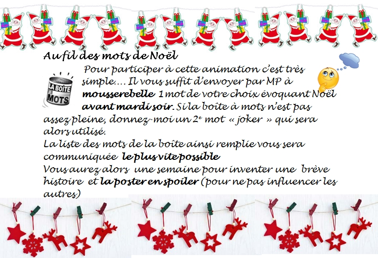 Au fil des mots octobre Joker et Noël 610874fildesmotsNoel