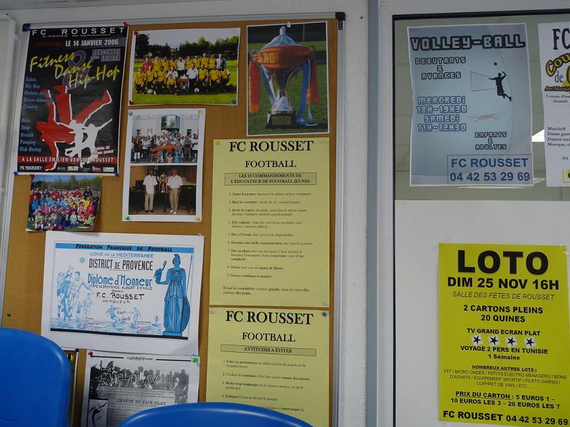 """LA SAINTE VICTOIRE DONNERA AU FC ROUSSET FOOT UN AVENIR """"SACREMENT """" GLORIEUX ! - Page 2 610946P1310403"""