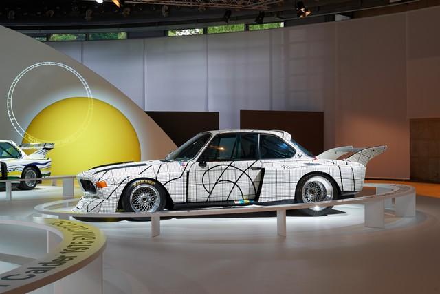 BMW célèbre ses 40 ans de BMW Art Cars 612233P90185161