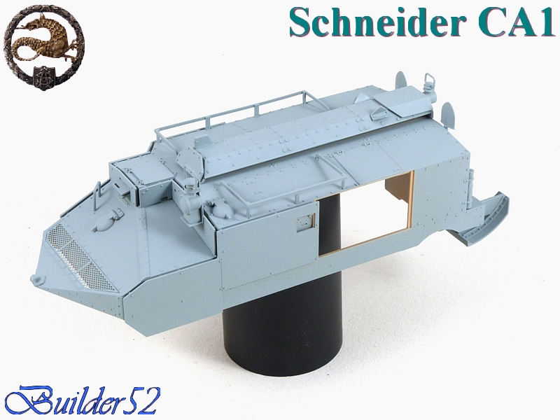 CHAR SCHNEIDER CA 1 - HOBBY BOSS 1/35 612742P1040933