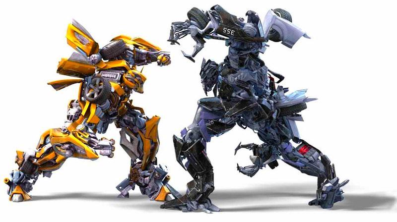 Concept Art des Transformers dans les Films Transformers - Page 3 612832BumblebeeversusBarricadetransformers72750800448