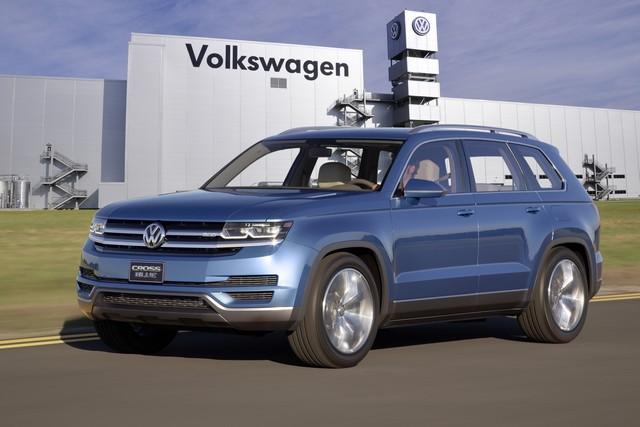 Volkswagen réaffirme ses investissements à Chattanooga  613121thddb2014au00540large