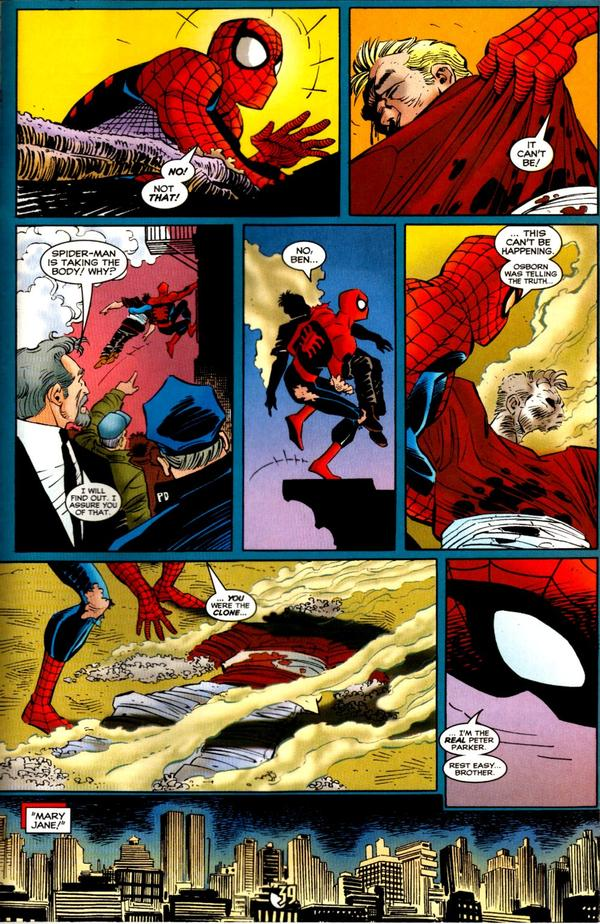 The amazing...Scarlet Spider ~ 6135591335369spiderman07539super