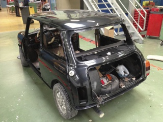 Restauration Mini Austin 1300 Injection 614903IMG4863