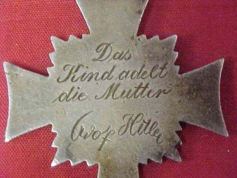 Mutterkreuz (croix des mères allemandes) 614932Photo599