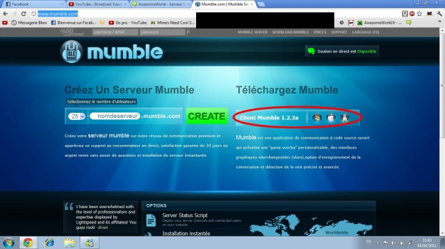 Nouveau serveur with MUMBLE ! 615206221