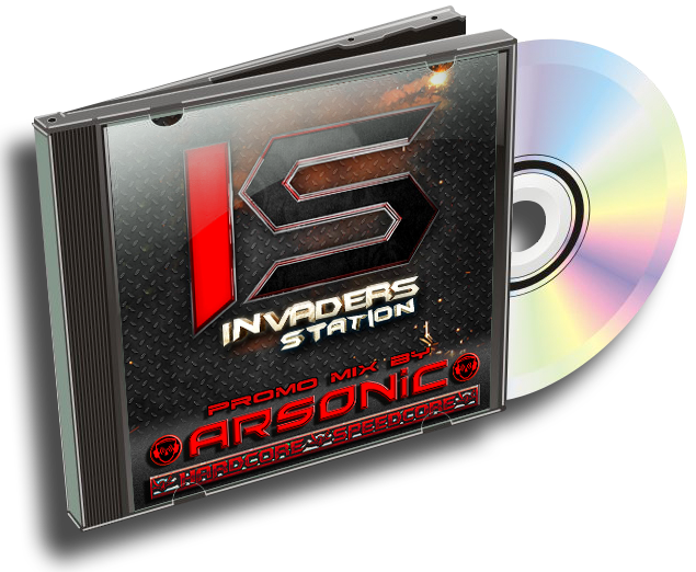 [MAINSTREAM] Arsonic - promo-mix INVADERS OF HARDFLOOR (24/9/2015) 616087InvandersofHardfloorcover3D