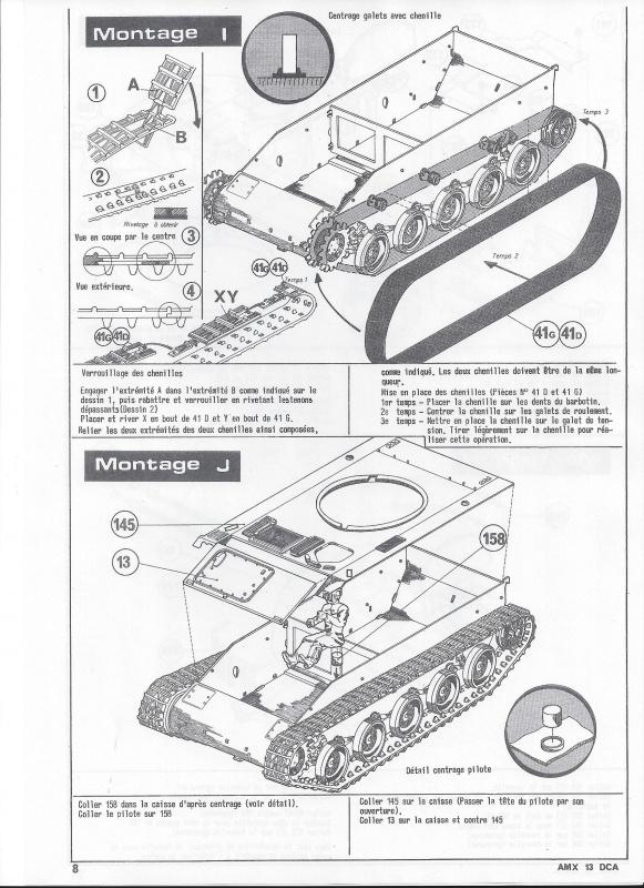 AMX 13 DCA - (Réf. L783) 1/35  617946AMX13DCA783009Heller135