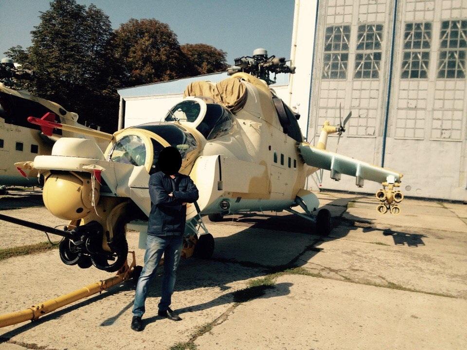 صور مروحيات Mi-24MKIII SuperHind الجزائرية 617985632