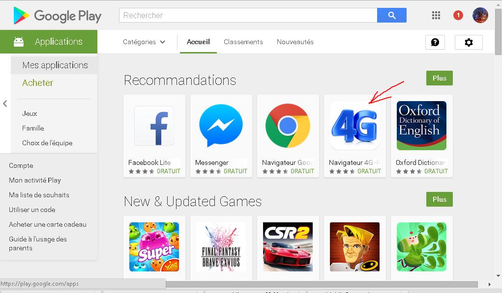 Telecharger une Application du Play Store à partir du PC 617992phantom