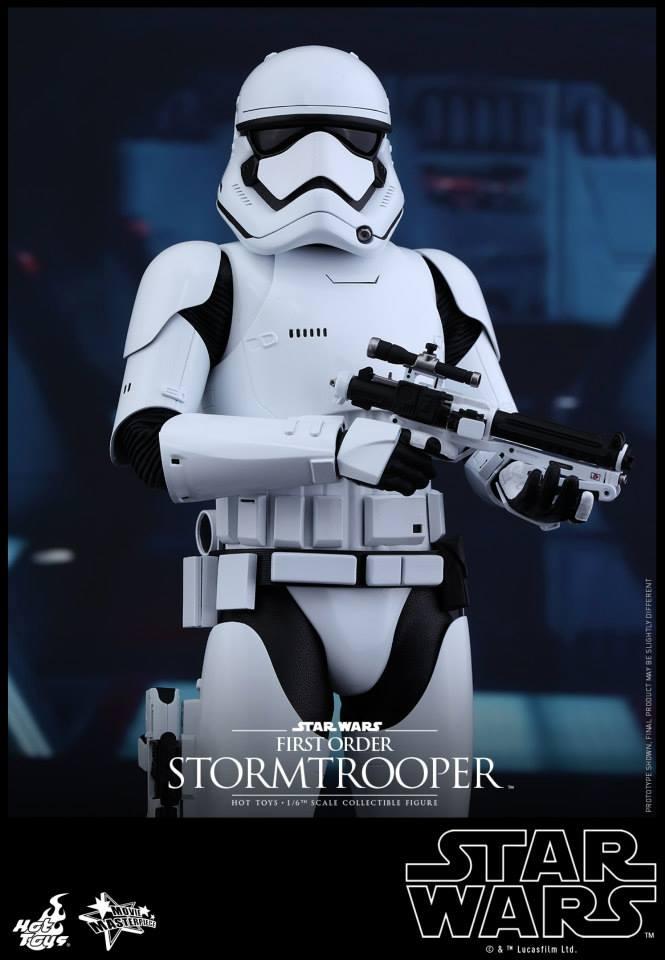 HOT TOYS - Star Wars: TFA -  First Order Stormtrooper 619559104