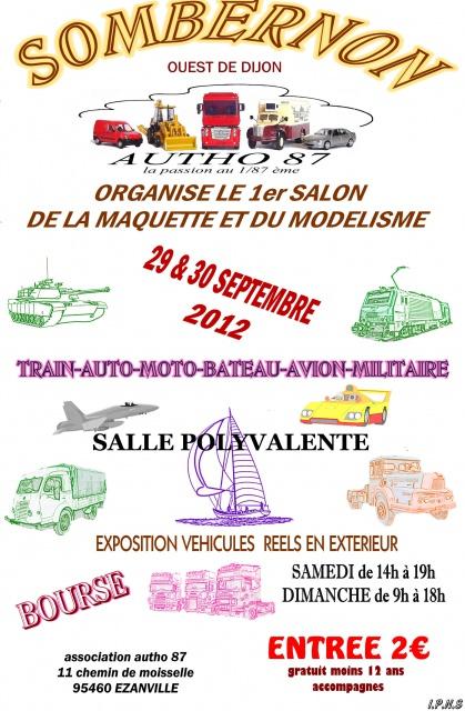 Expo Sombernon (Autho87) 619685AfficheSOMBERNON