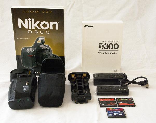 [Vendu] Nikon D300 + Grip + Télécommande + accessoires - Baisse de prix 619698D30005