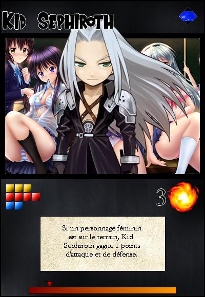 Jeu de cartes RPGDBZ 619952KidSephirothcarteN15