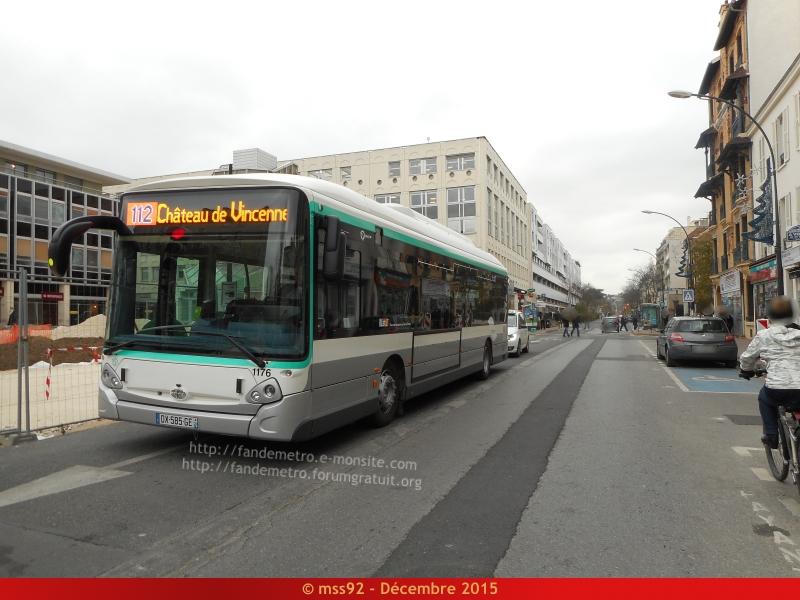 [RATP] GX 337 : Électrique, Hybride et GNV - Page 2 620163DSCN1350