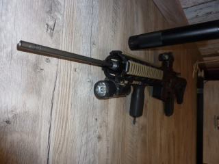 P90 KA, M4 gb Systema, lance-grenade post Apo, radio/casque 621906M44