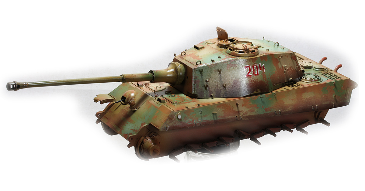 King Tiger  TAMIYA 1/35 622167KTigerwb07