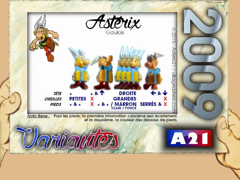 Astérix® les Variantes d'Hier et d'Aujourd'hui [Le Catalogue] 622837MarbreVariantesKinder2009Astrix