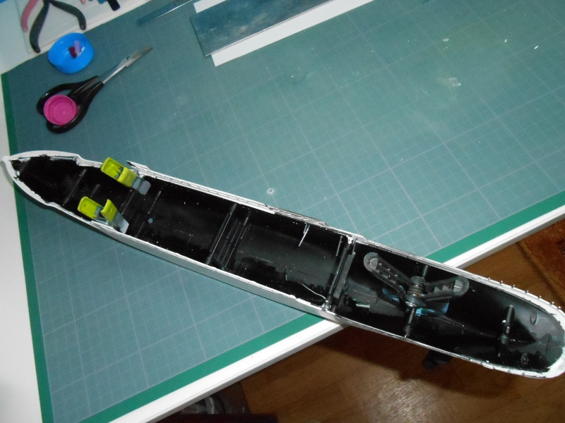 Hikawa Maru hopital 1/350 PE/pont en bois et babioles  - Page 2 622898DSCN5586