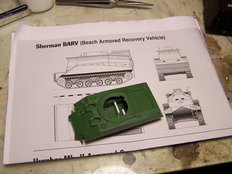 Sherman BARV Juno beach Secteur Nan Withe 06.06.44 partie 01 6244611007091